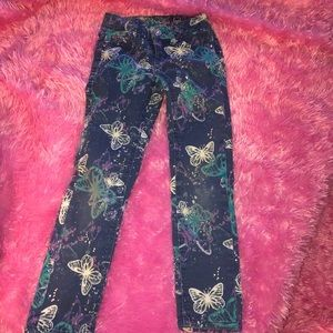 Justice Butterfly Jeans